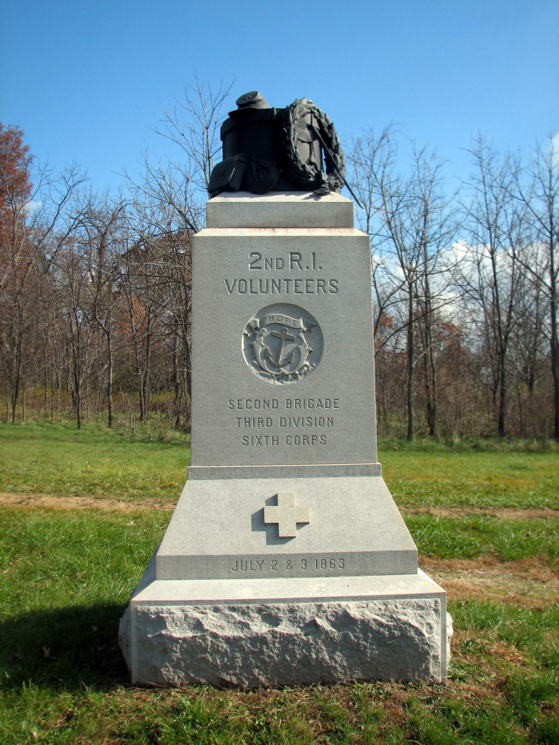 2 RIV at Gettysburg